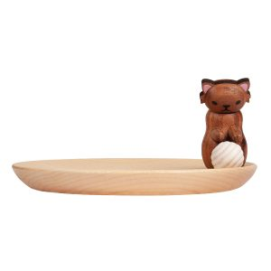 Cat Wooden Tray